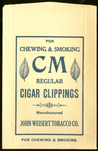 Weisert Tobacco Cm Chewing & Smoking Clippings Bag