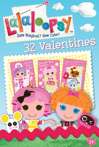 Paper Magic Showcase Lala Loopsy Valentine Exchange Cards (32 Count) - 1