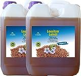 Leinöl 10 Liter (2 X 5 Liter) kaltgepresst ohne Konservierungsstoffe kostenlose Lieferung