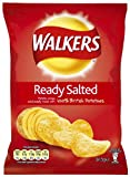Walkers Crisps Ready Salted 34.5 g (Pack of 48)