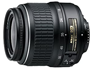 Nikon 18-55mm f/3.5-5.6G ED II AF-S DX Nikkor Zoom Lens (OLD MODEL)