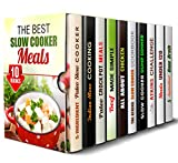 img - for The Best Slow Cooker Meals Box Set (10 in 1): Enjoy Lavish Vegan, Vegetarian, Meat, Diet, and Other Slow Cooker Recipes You Can Cook Everyday (Slow Cooker & Paleo Recipes) book / textbook / text book