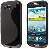 """Etui Housse Gel en """"S"""" Samsung Galaxy Core 4G LTE SM-G386F + 3 FILMS OFFERTS"""