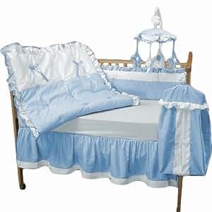 Baby Doll Bedding Regal Crib Bedding Set, Blue