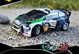 124-On-Road-2WD-mini-RC-ferngesteuertes-Auto-Rally-Car-24GHz-Digital-vollproportionale-Steuerung-Top-Speed-bis-zu-25-kmh-Komplett-Set-RTR