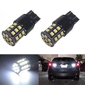JDM ASTAR 800 Lumens Super Bright AX-2835 Chipsets 7440 7441 7443 7444 992 LED Bulbs ,Xenon White