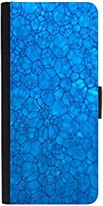 Snoogg System Bluedesigner Protective Flip Case Cover For Samsung Galaxy Note...