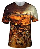 "Yizzam- Bruegel - ""Triumph of Death"" (1562) -Tagless- Mens Shirt-Large"
