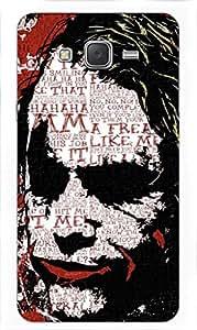 joker batman Designer Printed Back Case Cover for Samsung Galaxy J7 (2015)