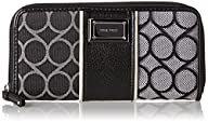 Nine West 9S Jacquard Zip Around Wallet