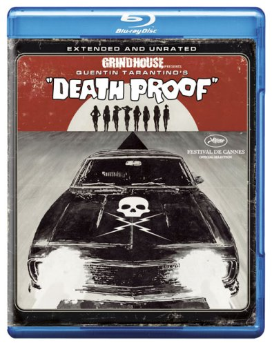 Cover art for  Death Proof (Extended and Unrated Edition) [Blu-ray]