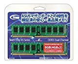 TEAM DDR3 1333MHz CL9 メモリーモジュール 4GB x 2枚 TED38192M1333C9DC-AS