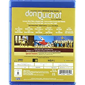 Don Quichotte [Blu-ray] [(+booklet)]