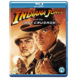 Indiana Jones & The Last Crusade [Blu-ray]