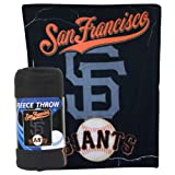 "MLB Lightweight Fleece Blanket (50"" x 60"": Yankees, SF Giants, Red Sox, Angels, White Sox) (San Francisco Giants) at Amazon.com"