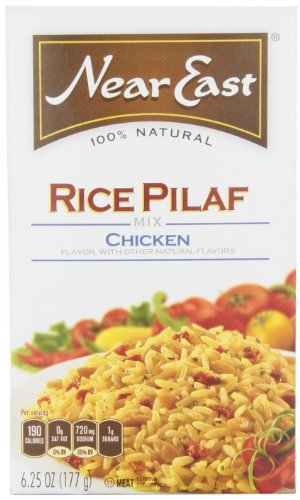 Near East Chicken Rice Pilaf Mix, 6.25-Ounce Boxes (Pack Of 12)