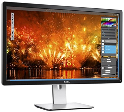 Dell 210-ADYV 60,9 cm (24 Zoll) Monitor (HDMI, 3840 x 2160 Pixel, 6ms Reaktionszeit) schwarz