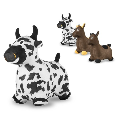 Bouncy® Inflatable Real Feel Hopping Cow