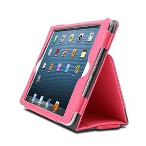 Kensington Portafolio Housse Folio avec Support pour iPad Mini & Mini Retina- Rose