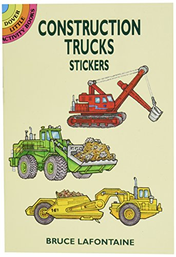 Dover Publications-Construction Truck Stickers - 1