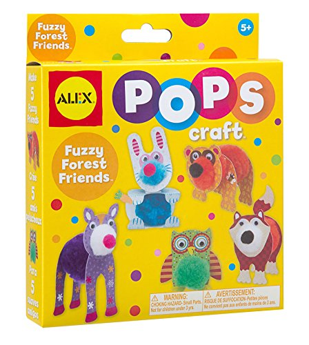 ALEX Toys POPS Craft Fuzzy Forest Friends - 1