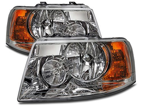 ford-expedition-halogen-type-headlights-headlamps-pair-new-set