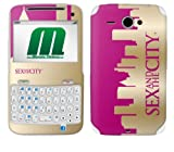 MusicSkins Sex and the City Skyline Logo Skin for HTC ChaCha