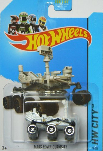 Hot Wheels 2014 Hw City Planet Heroes Mars Rover Curiosity 71/250 from Mattel