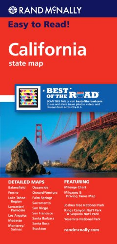 Rand McNally Easy to Read! California State Map PDF