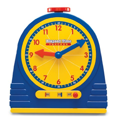 Learning Resources Elapsed Time Clock - 1