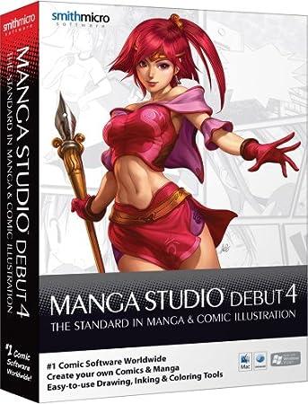 Manga Studio Debut 4.0