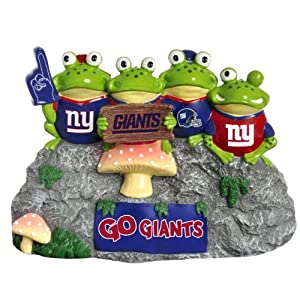 NFL New York Giants Frog Fan Bench by Forever Collectibles