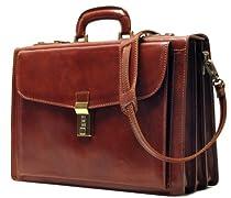 Floto Leather Roma Briefcase
