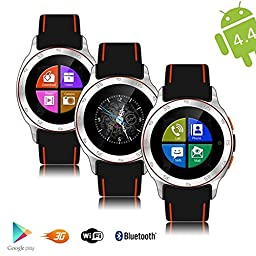 inDigi® NEW GSM Android 4.0 Smart WatchPhone Google Play Store Apps WiFi Camera UNLOCKED (US Seller)