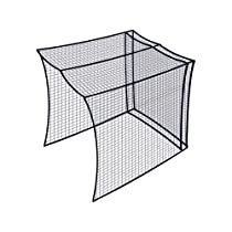 Dynamax Sports Golf Cage Net, Black, 10X10X10-ft