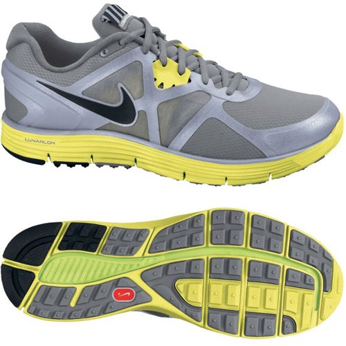 Nike Lady LunarGlide+ 3 Shield Running Shoes - 8
