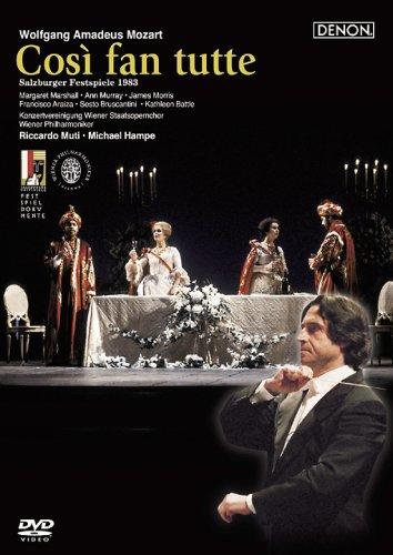 モーツァルト:歌劇《コジ・ファン・トゥッテ》全曲 [DVD]