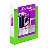 Avery Durable View Binder with 2 inch Rings, Green, 1 Binder (17838)