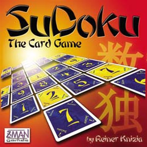 Cheap Z-Man Games Renier Knizia's Sudoku Card Game (B000LPNH9U)