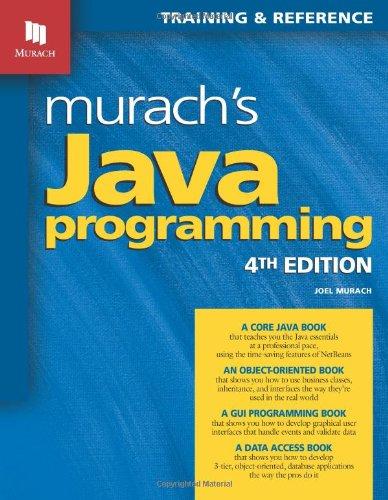 Murach's Java Programming PDF