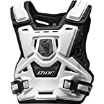 Thor MX Sentinel Protector Youth Roost Deflector Off-Road Motorcycle Body Armor - White/Black / One Size