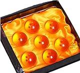 ドラゴンボール(DRAGON BALL)水晶 ドラゴン 龍球 7点セット クリスタル 4.5cm コスプレ小道具  Ruleronline