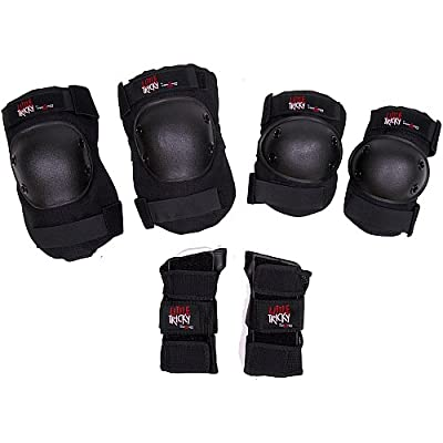Triple Eight Little Tricky Junior Protective Pad 3-Pack by Triple Eight Sports
