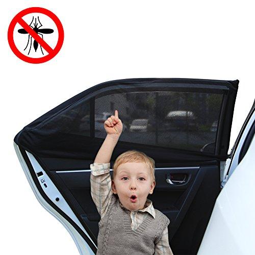 GHB-Tendina-Parasole-Laterale-per-Auto-Confezione-da-2-Pezzi-Impediscono-alla-Luce-al-Calore-e-ai-Nocivi-Raggi-UV-per-Proteggere-Bambini