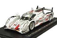 Spark 1/43 アウディ R18 e-tron クワトロ チーム ヨースト 2012 ルマン24H 2位 #2 R.カッペロ/T.クリステンセン/A.マクニッシュ