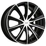 Touren TR10 3210 Black Wheel with Machined Face (17×7″/10×114.3mm)