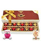 Birthday Treat To Your Special One With Birthday Card And Teddy - Chocholik Luxury Chocolates