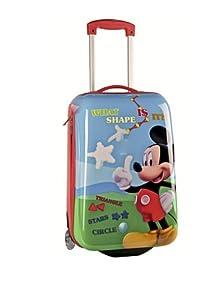 Disney Mickey Mouse Trolley da Viaggio Rigido