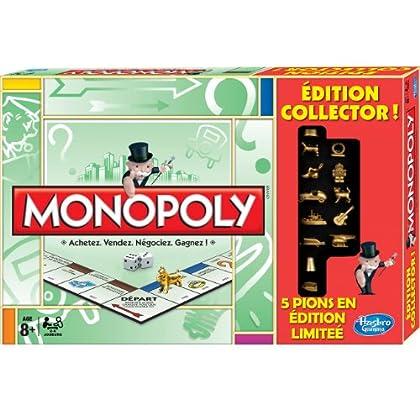 MONOPOLY KLASSIK / CLASSIC Sammler Edition - FRANZÖSISCH Jeu de Plateau - Monopoly Classique Collector - Hasbro - A38561010