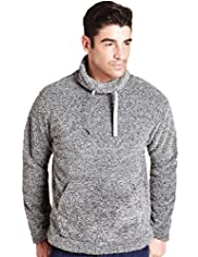 North Coast Funnel Neck Fleece Top